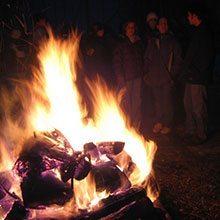 Evening-Bonfire